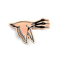 Three Headed Goose Pin