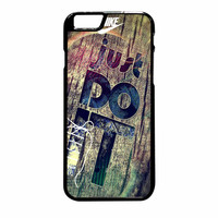 Nike Just Do It Wood iPhone 6 Plus Case