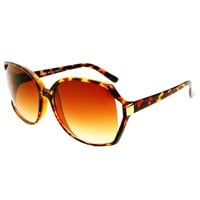 Retro Style Womens Large Oversized Sunglasses Shades O12