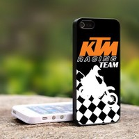 KTM Racing Team - For iPhone 5 Black Case Cover