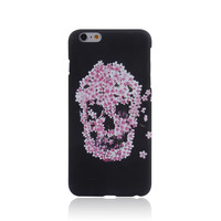 Skull Punk Style Luminous Light Up Handmade iPhone creative cases for 5S 6 6S Plus Free Shipping