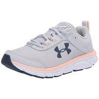 Under Armour Women's Charged Assert 8 Running Shoe 5 Halo Gray (105)/White