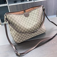 GG classic two-piece letter full print tote bag hot sale fashion lady messenger bag