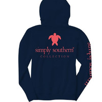 """Simply Southern """"Turtle Logo"""" Hooded Long Sleeve"""