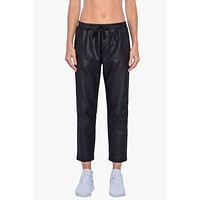 Zone Drawstring Pants - Black