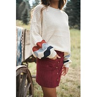 Shallow Waters Sweater (Cream)