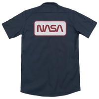 NASA Rectangular Logo Dickies Work Shirt