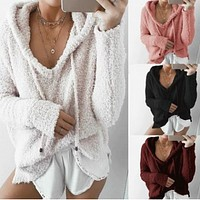 2018 new hooded sweater sweater sweater