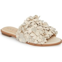 Sole Society Caelyn Embellished Flat Sandal (Wome)   Nordstrom