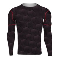 Raglan Sleeve Avengers 3 Iron Man 3D Printed T shirts Men Compression Shirts 2018 Crossfit Top For Male crossfit fitness Cloth