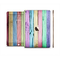 The Light Color Planks Skin Set for the Apple iPad Air 2