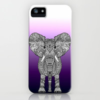 *** PURPLE OMBRE ELEPHANT ***  iPhone & iPod Case by M Strigel for iphone 5c, 5s, 4s, 4, 3gs, 3g, ipodtouch and Samsung Galaxy !!!