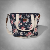 Classic Floral Tote