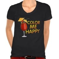 COLOR ME HAPPY song inspired tee