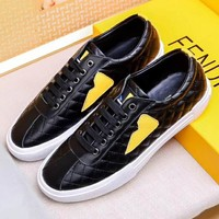 Boys & Men Fendi Fashion Casual Sneakers Sport Shoes