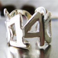 Date Ring Personalized Custom Sterling by XekebCustomSilver