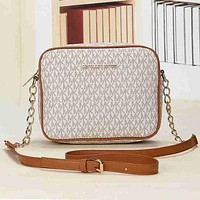 Michael Kors MK Women Fashion Shopping Bag Leather Satchel Crossbody Shoulder Bag
