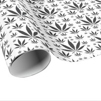Pot Leaf Wrapping Paper