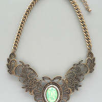 Antiqued Bella Necklace
