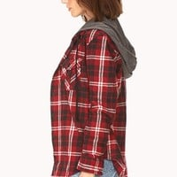 Rustic Plaid Flannel Shirt