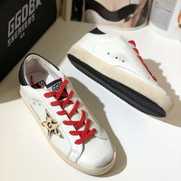 GGDB Golden Goose Uomo Donna Beige Star Fashion Shoes Low Top White Sneaker