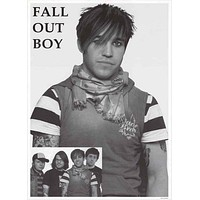 Fall Out Boy Pete Wentz Poster 25x35