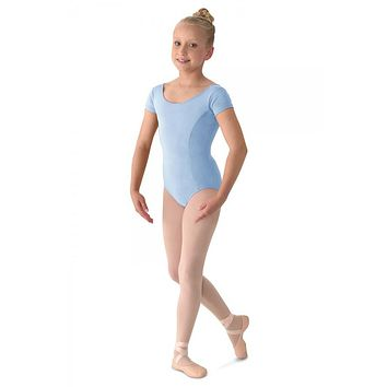 Cap Sleeve Leotard M515C by Mirella