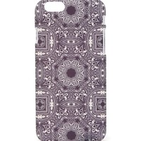 With Love From CA Tile Print iPhone 6 Case - Womens Scarves - Blue - One