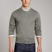 Tipping Point - Olive Grey - Crew Neck