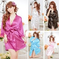 Cool2day Womens Robe Bathrobes Sleepwear Pajamas Lingerie
