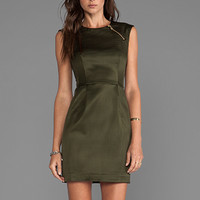 Nanette Lepore Runway Martian Woven Dress in Olive from REVOLVEclothing.com