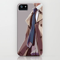 In Plumed Procession iPhone & iPod Case by Blue