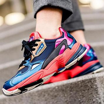 ADIDAS FALCON Contrast Fashion Women Casual Running Sport Shoes Sneakers 2#