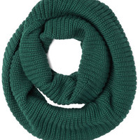Dressed to Chill Circle Scarf in Evergreen | Mod Retro Vintage Scarves | ModCloth.com