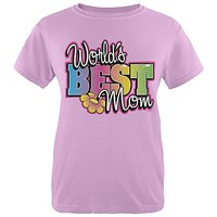Mother's Day World's Best Mom Womens T Shirt