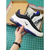 Nike Air Max 97 White Violet | 921826-103 Sport Running Shoes