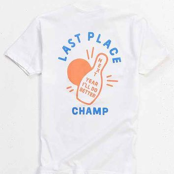 Valley Cruise Press X Dustin Williams Last Place Champ Tee