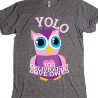 Athletic Grey T-Shirt | Funny You Only Live Once Shirts