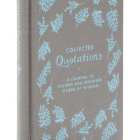Chronicle Books Vintage Inspired Collected Quotations Journal