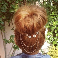 Floret Bun Hair Chain