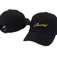 Sports Hat Cap trendy  Belababy Baseball cap Embroidery I decided Summer outdoor sports adjustable snapback hat for men women casual casquette gorras KO_16_1