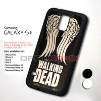 Team Wings The Walking Dead Design for Samsung Galaxy S5 Case