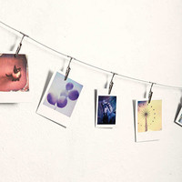 Metal Photo Clips String Set | Urban Outfitters