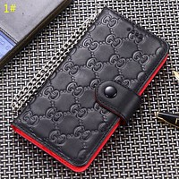 GUCCI & LV Louis Vuitton New fashion more letter monogram leather protective case phone case 1#