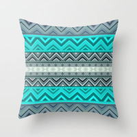 Mix #180 Throw Pillow by Ornaart