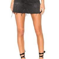 GRLFRND Eva Denim Skirt in Hotel California | REVOLVE