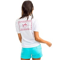 Women's Original Skipjack T-Shirt in Classic White by Southern Tide