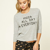 Pizza Graphic PJ Set