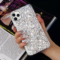 Luxury Glitter Shockproof Silicone Phone Case For iPhone