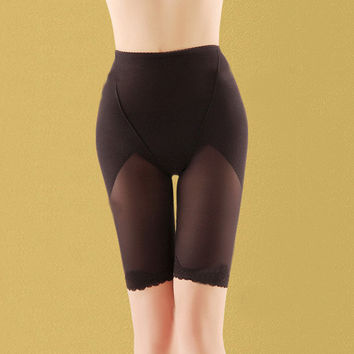 Women Hot Breathable Body Shapers Slimming High Waist Corset Hip Abdomen Tummy Control Trainer Bottoms Panties Shapewear NW